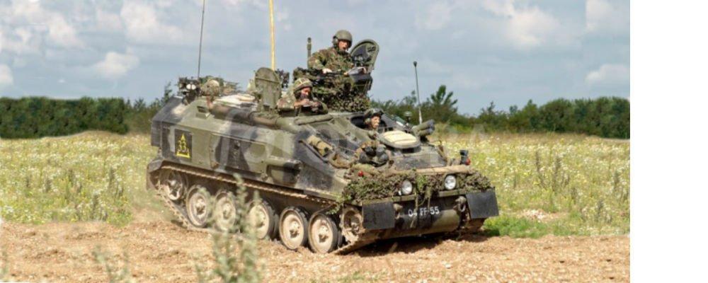 Original Spartan Armoured Vehicle