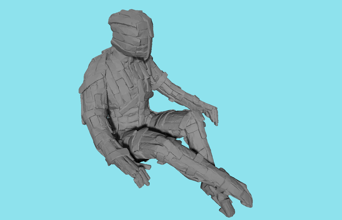 Mesh from 3D scan data