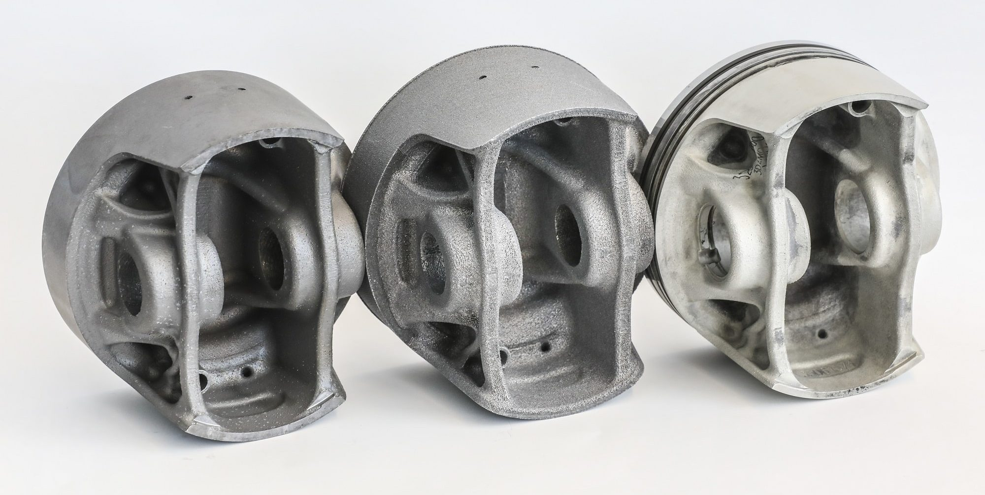 World-First 3D-Printed Pistons Developed by Porsche, Mahle and Trumpf