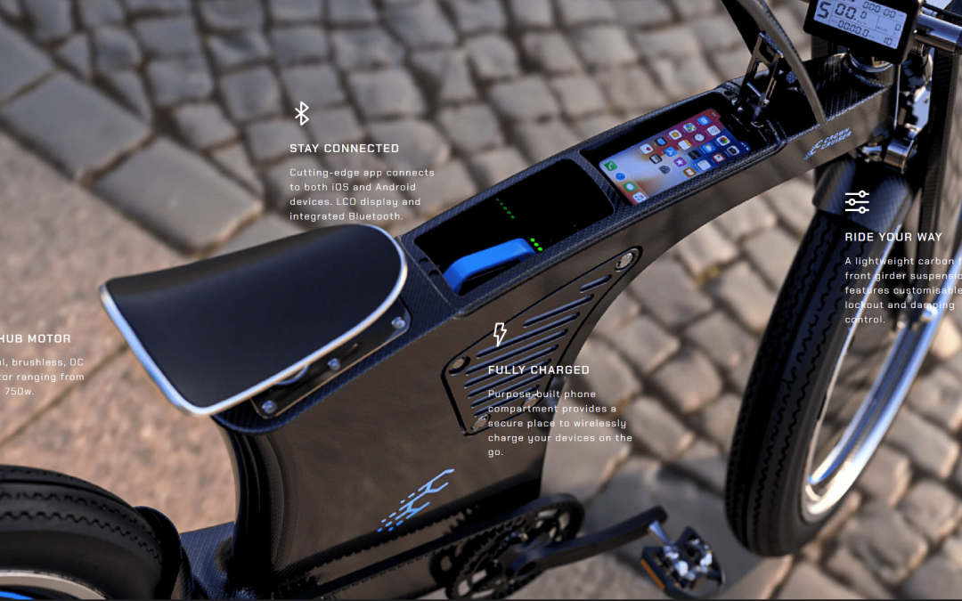 PES Team Develop State-of-the-Art Carbon-Fibre eBike
